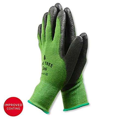 Bamboo Working Gloves for Women & Men. Ultimate Barehand Sensitivity Work Glove for Gardening, Fishing, Clamming, Restoration Work & More. Breathable by Nature! – Medium (1