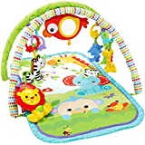 Fisher Price - Newborn Toys - 3-In-1 Activity Play Gym, Rainforest