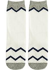 Fablcrew Chaussettes Bebe Mignons Coton Highsocks Ondulation Design Chaussettes Unisex