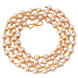 #7: Eklavya Jewels Gold Plated Chain For Women and Girls