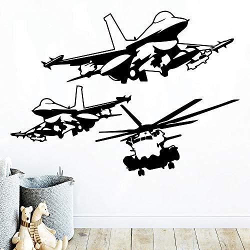 Heißer Hubschrauber Wasserdichte Wandaufkleber Kunst Dekoration Für Wohnzimmer Kinderzimmer Wandaufkleber Wasserdichte Tapete f1 30x41 cm