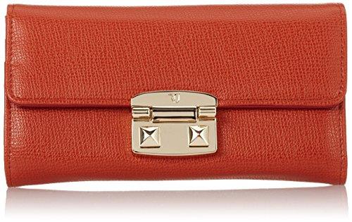 Trussardi Jeans Vail Portamonete, 22 cm, Orange