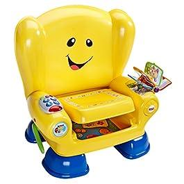 Fisher-Price Mattel Sedia Intelligente, Gioco educativo, Colore: Giallo [Lingua Inglese]