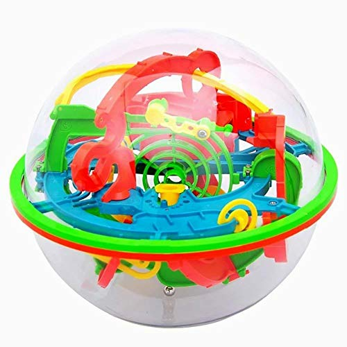 (Xiton Puzzle Toy 100 Barrieren 3D Labyrinth Magic Intellekt Ball Balance Labyrinth Puzzle Spielzeug)