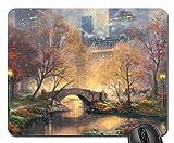 Central Park en el otoño cojín de ratón, Mousepad (parques de atracciones cojín de ratón)