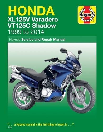 Honda Xl125V Varadero & VT125C Shadow (99-14) por Phil Mather