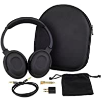 7dayshop AERO 7 Active Casque audio avec suppression du bruit Kit avion et étui de transport inclus
