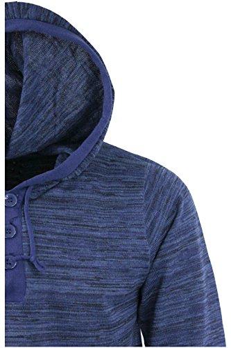 Brave Soul Herren Pullover Blue Twist