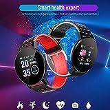 tiowea Touchscreen Smart Watch Sports IP67 Monitor per Il monitoraggio della frequenza cardiaca Impermeabile Smartwatch