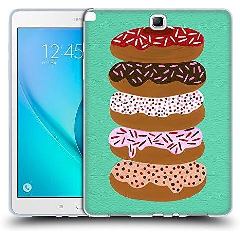 Ufficiale Cat Coquillette Pieno di donut menta Dolci Cover Morbida In Gel Per Samsung Galaxy Tab A 9.7