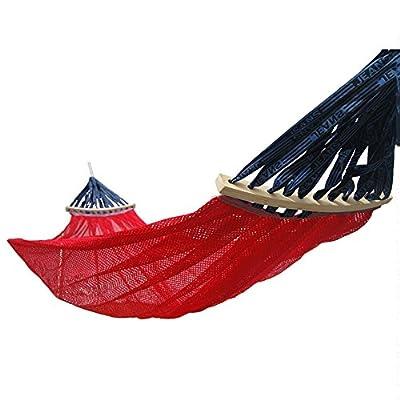 DS Hängematte Hängematte Outdoor 2 Personen Tragbare Camping Tourismus 280 × 150 cm 3 Farbe Optional ** von Dong Sheng shop - Gartenmöbel von Du und Dein Garten