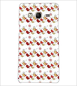 PrintDhaba Pattern D-5253 Back Case Cover for SAMSUNG Z3 (Multi-Coloured)