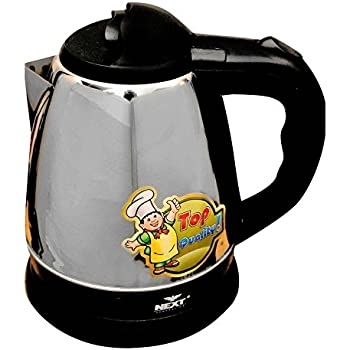 Next Generation 1.5L Stainless Steel Electric Kettle - Queen-1500 (Silver:Black)