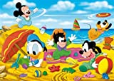 26788 - Clementoni Supercolor, Puzzle 60 Teile - Disney Babies: Playing at the seaside, 60 Teile