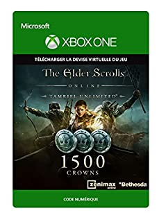 The Elder Scrolls Online Tamriel Unlimited Edition 1 500 Couronnes [Xbox One - Code jeu à télécharger] (B01LZ4L1UI) | Amazon price tracker / tracking, Amazon price history charts, Amazon price watches, Amazon price drop alerts