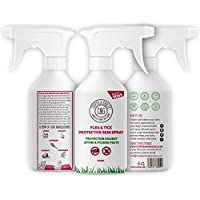 Cooper And Gracie C&G Cruelty free Pet Care C&G Dog Fleas Protection Spray - Tick and Flea Treatments for Dogs - Best Grooming Coat Conditioner