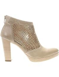 Sneakers NeroGiardini in pelle bianca e doppia chiusura tramite lacci e lampo (Taglia 39)