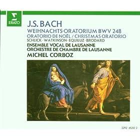 """Bach, JS : Weihnachtsoratorium [Christmas Oratorio] BWV248 : Part 3 """"Und da die Engel von ihnen gen Himmel"""" [Evangelist]"""