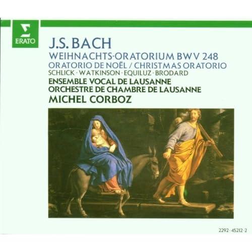 """Bach, JS : Weihnachtsoratorium [Christmas Oratorio] BWV248 : Part 5 """"Da Jesus geboren... Wo ist der neugeborene König"""" [Evangelist, Choir, Contralto]"""