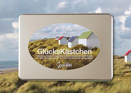 GlücksKästchen-Set (Gruß-Karten/Geschenk-Karten): 10 Moderne Karten/Klappkarten zum Thema...