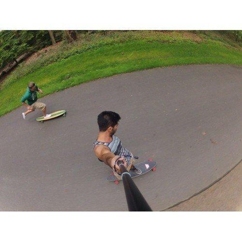 Einhandstativ für GoPro Action Pro Stange Ski Selfie Snowboarding Selbstportrait Stange