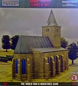 Maquette Eglise Bastogne Flames Of War Front en Boite (10-15mm Scale, BB150)