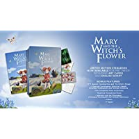 Mary and the Witch's Flower Steelbook