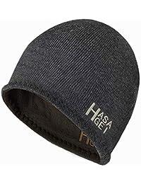2ecd39f1d350dc HASAGEI Winter Beanie Hat Knit Warm Fleece Hats Reversible Hats for Men  Women