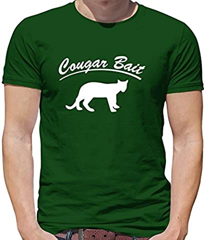 Cougar Bait - Mens T-Shirt-Bottle-XXL