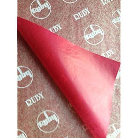Rossa macchina da scrivere, copiare, formato A4, carta in fibra di carbonio, confezione da 50 fogli - A4 In Fibra Di Carbonio