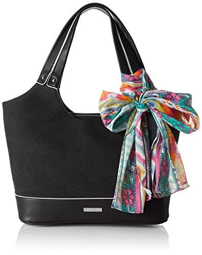 Bulaggi - Blanche Shoulder Bag, Borse a Tracolla Donna Black (Black)