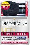 Diadermine Onpack Kabuki Pinsel Lift plus Super Filler Hyaluron Anti-Age Nachtcreme, 1er Pack (1 x 50 ml)