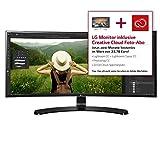 LG 34UC88-B, 86.36 cm (34 Zoll) Monitor (Anschlüsse: 2 x HDMI, 1 x DisplayPort, 1 x USB 3.0, 1 x USB Quick, 1 x Charge für Port 1, 1 x 3.5 mm Klinke)