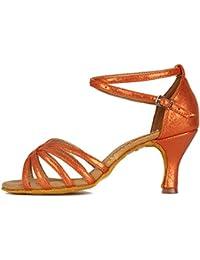 Miyoopark - Ballet Mujer, Color Naranja, Talla 39.5