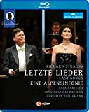 Strauss:Alpensinfonie [Christian Thielemann, Anja Harteros; Staatskapelle Dresden] [C MAJOR: BLU RAY] [Blu-ray] [2014] [Region A & B]