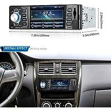 Auto Radio, radio de coche mp5reproductor 4.1Inch 1080P de indash Radio, Bluetooth, MP3/MP4/MP5/USB/SD AM/FM Auto estéreo USB SD Soporta Tarjeta de la Vista Trasera De Vídeo AUX Entrada Wireless mando a distancia