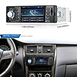 Autoradio, Autoradio MP5 player 4.1 inch 1080P-INDASH Radio, Bluetooth, MP3/MP4/MP5/USB/SD am/fm Auto Stereo unterstützt USB SD Karte Rückansicht-Video Aux Eingang Wireless Fernbedienung