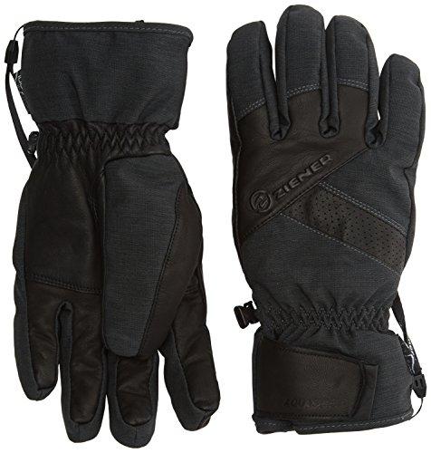 Ziener Herren Getter Asr AW Gloves Ski Alpine Alpinhandschuhe, Grey Iron Tec, 10