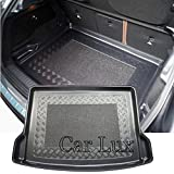 Car Lux AR03192 - Alfombra Cubeta Protector cubre maletero a medida con antideslizante GLA X156