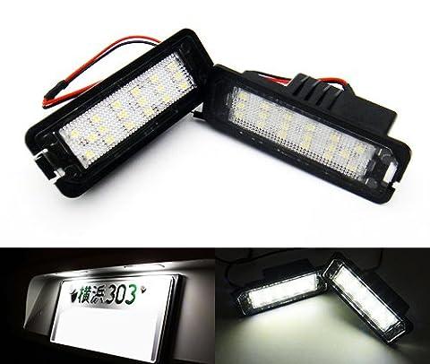 2x Plaque Immatriculation Licence Luffy LED lumière blanc sans erreur