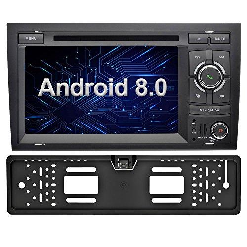 Ohok 2 DIN Android 8.0 Autoradio 7 Pulgadas GPS Navegador Oreo Octa...