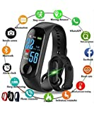 SR Global M3 Fit Band Activity Tracker Heart Rate Monitor, Sleep Monitor, Calore