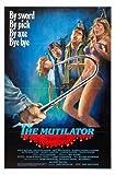 Mutilator Poster 01 A3 Box Canvas Print