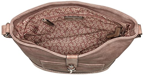 Tom Tailor - Camilla, Borsa a spalla Donna Rot (Rose)