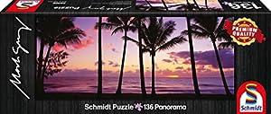 Schmidt Spiele 59366 - Mark Gray, Palm Cove - Queensland, 136 Partes, Australia, Puzzle Clásico