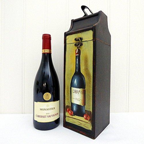 Portador de vino bebida de lujo con Monastier vino tinto - Regalo perfecto para el Día de la Madre