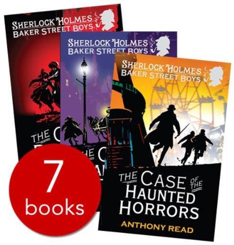 Anthony Read Baker Street Boys the Case of 7 Books