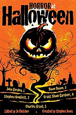 book cover of Horror at Halloween