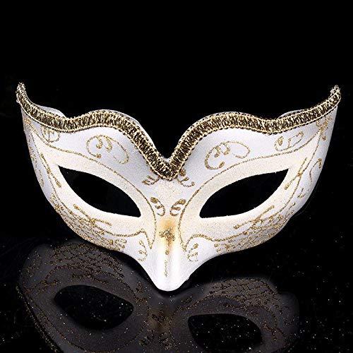 Queta Creative Custom Kinder Masquerade Party Halloween Maske Weihnachten Atmosphäre Maske weiß weiß