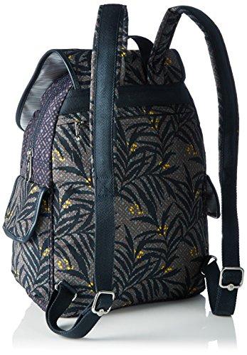 Kipling - City Pack, Borse a zainetto Donna Multicolore (Tropic Bloom Bl)